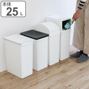 ゴミ箱 ダストボックス カスタムペール 本体 深型 25L 当店オリジナル商品 ( 分別 ごみ箱 ダストボックス 縦型 スタッキング )|livingut