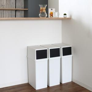 ゴミ箱 ダストボックス カスタムペール 本体 深型 25L 当店オリジナル商品 ( 分別 ごみ箱 ダストボックス 縦型 スタッキング )|livingut|14