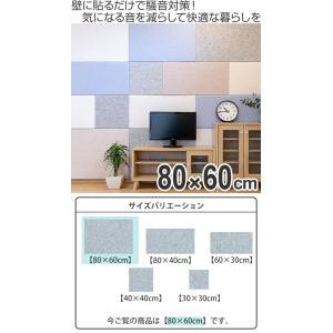 吸音材 吸音パネル フェルメノン 45度カット 80×60cm 吸音 防音 ( パネル ボード 吸音ボード ) livingut 02