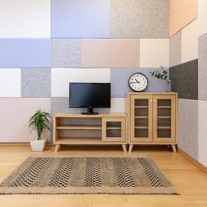 吸音材 吸音パネル フェルメノン 45度カット 80×60cm 吸音 防音 ( パネル ボード 吸音ボード ) livingut 12