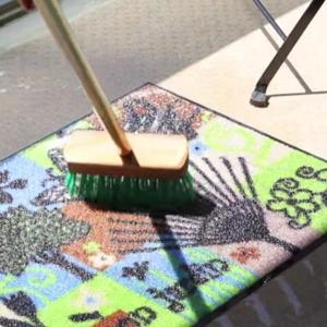 玄関マット wash+dry ウォッシュアンドドライ Lanas 屋内屋外兼用 50×75cm ( エントランスマット 洗える すべり止め )|livingut|06