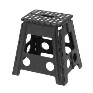 踏み台 セノビー 高さ39cm 天板29cm のっぽ君 ブラック ( 折りたたみ 折り畳み ステップ台 )|livingut