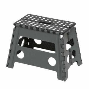 踏み台 セノビー 高さ32cm 天板37cm 幅ひろ君 ブラック ( 折りたたみ 折り畳み ステップ台 )|livingut|03