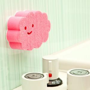 風呂用スポンジ・ブラシ 貼りつく バスクリーナー