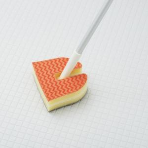 バススポンジ トレピカEXバスクリーナー 浴槽洗い 床洗い ( 掃除用品 風呂掃除 風呂スポンジ ) livingut 04