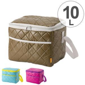 クーラーボックス ソフトクーラーバッグ 10L 小型 ショルダーベルト付き ( 保冷バッグ 冷蔵ボックス 折りたたみ )|livingut