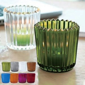 キャンドルホルダー キャンドルグラス ガラス製 ソレイユ ( キャンドルスタンド ろうそく立て アロマ 香り キャンドル )|livingut