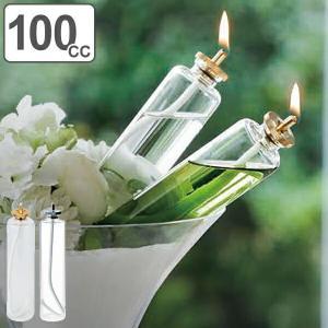 ガラスボトル L 100cc キャンドルホルダー リキッドキャンドル ボトル ガラス製 ( キャンドル 液体 ガラス容器 )|livingut