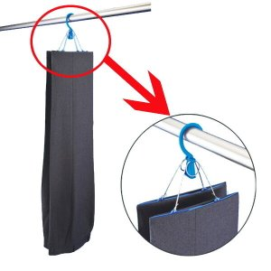 洗濯ハンガー ハンガー ズボン用 逆さ干しパンツハンガー ( ズボン パンツ )|livingut