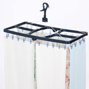 洗濯ハンガー 角ハンガー ジャンボ ポリカ ピンチ42個付 ( ハンガー 洗濯 物干しハンガー )|livingut|04