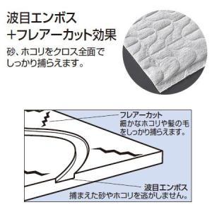 ダストモップ用シート プロテック マイクロクロス 45cm ( フローリングワイパー スペア 業務用 )|livingut|02