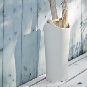 傘立て 陶器傘立て コモ ホワイト