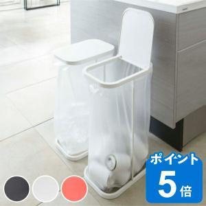 ●ペットボトルや空き缶などの分別に便利なゴミ袋ホルダーです。 ●ゴミ袋を掛けて蓋をするだけで完成! ...