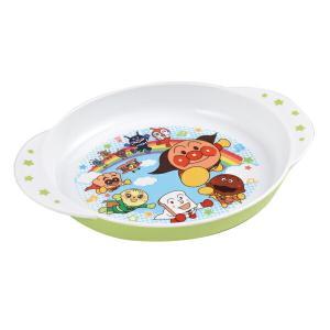 盛り付けが楽しくなる、カラフルなアンパンマンの大皿です。手を添えやすい形状で、フチが深く、すくいやす...