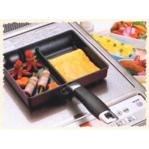 ■在庫限り・入荷なし■フライパン ツインパン IH対応 ( ガス火対応 卵焼きパン 玉子焼き器 )|livingut|03