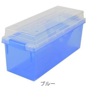 収納ケース メディア収納ボックス DVD・CDケース ( メディアケース フタ付き プラスチック製 )|livingut|03