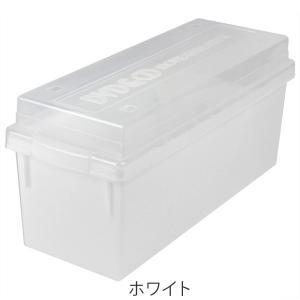 収納ケース メディア収納ボックス DVD・CDケース ( メディアケース フタ付き プラスチック製 )|livingut|04
