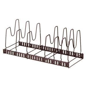 フライパン収納 伸縮式フライパン&鍋ブタスタンド ファビエ FV30 ( Favie 収納ラック キッチン 収納 フライパン )|livingut|02