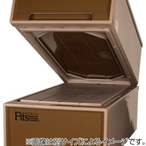 収納ケース Fits フィッツケースクローゼット M−53 ブラウン シール付 ( 収納ボックス 引き出し 衣装ケース 衣類収納 )|livingut|06