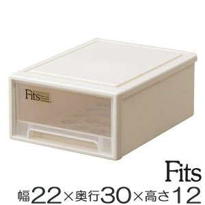 収納ケース Fits フィッツ フィッツケース スモール 引き出し プラスチック ( 収納 収納ボックス 衣装ケース 小物収納 ) livingut
