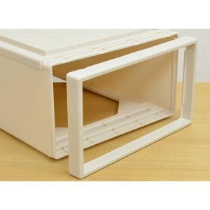 収納ケース Fits フィッツ フィッツケース フィッツケースクローゼット M-53 ( 収納 収納ボックス 衣装ケース ホワイト 押入れ収納 引出し )|livingut|09