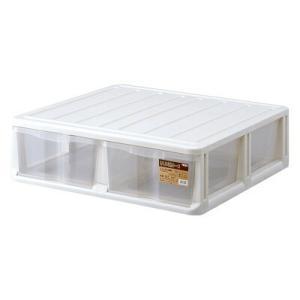 押入れ収納ケース WM−102 ( 衣装ケース 布団 台 ベッド下収納 プラスチック )|livingut
