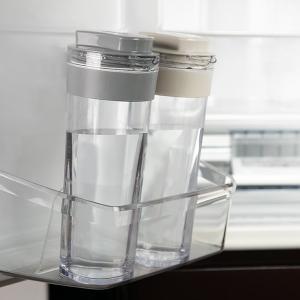 冷水筒 スリムジャグ 1.1L 横置き 縦置き 耐熱 日本製 当店オリジナル商品 ( ピッチャー 麦茶 冷水ポット 麦茶ポット )|livingut|05