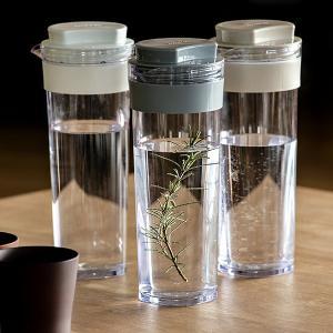 冷水筒 スリムジャグ 1.1L 横置き 縦置き 耐熱 日本製 当店オリジナル商品 ( ピッチャー 麦茶 冷水ポット 麦茶ポット )|livingut|08