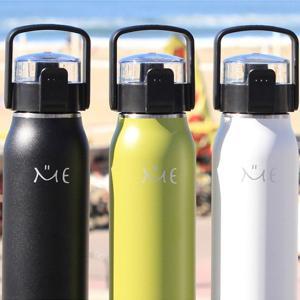 水筒 ステンレスボトル ミーボトル 1L 保冷 直飲み ベルト付き ハンドル付き ( ステンレス製 ダイレクトボトル ワンタッチオープン )|livingut|09