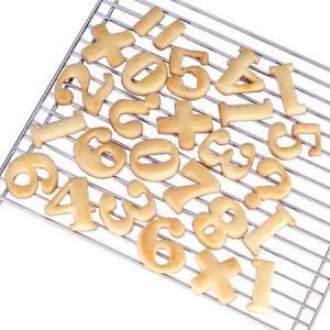 クッキー型 抜き型 数字 13個セット プラスチック製 ( クッキー抜型 クッキーカッター 製菓グッズ )|livingut|03