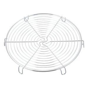 ■在庫限り・入荷なし■ケーキクーラー 丸型 24cm ステンレス製 ( ケーキ 焼菓子 冷却 製菓道具 )|livingut