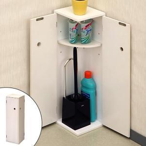 ●トイレ内の清掃用品、備品などの収納に便利なトイレ収納です。 ●棚板は3段階に移動できるので、収納す...