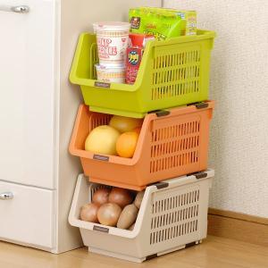 野菜ストッカー スリムストッカー じゃが玉ストッカー ( 野菜 収納 保管 キッチン )|livingut