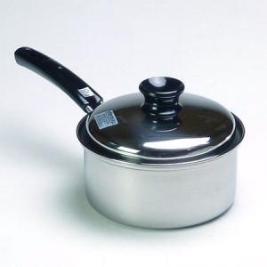 IH対応 ステンレス製 クレアーレ 片手鍋 16cm