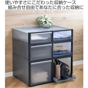 収納ケース 引き出しタイプ クローゼット収納 引き出し 高さ16cm 日本製 ( 収納 衣装ケース 引き出し 収納ボックス )|livingut|02