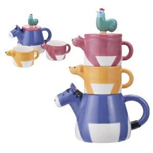 ティーポット&カップセット ブレーメンのティーフォーツー 食器 ( コップ ポット TEA FOR TWO )