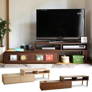 テレビ台 伸縮 テレビボード