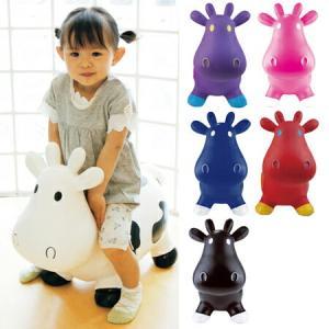 子ども用おもちゃ バウンシー ラバー カウ HOWDY ハウディー ビニール製 ( 乗用玩具 子供用 乗り物 乗物玩具 )|livingut