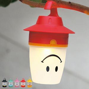 スマイルLEDランタン 電池式 ( デザイン照明 ランプ )...