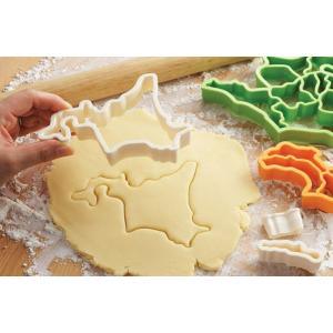 クッキー型 抜き型 ケンミンクッキー型 地方別 日本地図 ( クッキー抜型 クッキーカッター 都道府県 抜型 )|livingut|04
