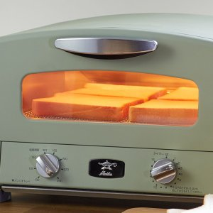 トースター アラジン グリル&トースター Aladdin ( ノンオイル調理 オーブントースター グリルパン 4枚焼き )|livingut|06