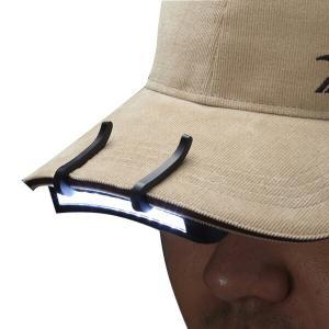 防災用品 11LED 帽子ライト