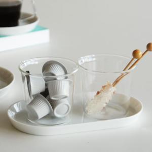 Cast ミルク&シュガー( コーヒー 紅茶 ガラス製 )