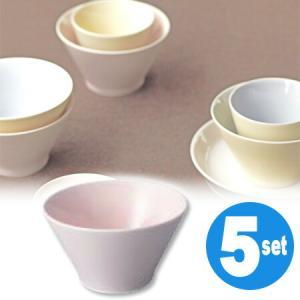 キントー KINTO アース ボウル ピンク 5個セット ( 和食器 器 茶碗  ) livingut