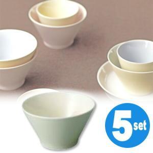 キントー KINTO アース ボウル グリーン 5個セット ( 和食器 器 茶碗  ) livingut
