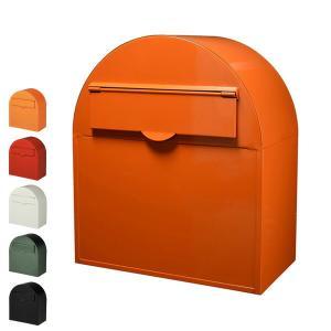|特価|郵便ポスト 郵便受け ヨーロピアンポスト 前入れ後出しタイプ ドーム型 ( 新聞受け メールボックス )