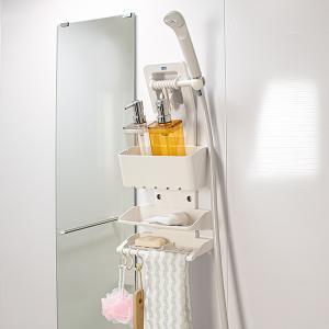 シャワーラック・ビビック 3段 浴室収納