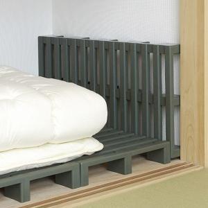 押入れ用すのこ クリーンパレット 2台セット すのこ 押入れ 布団 日本製 ( 押し入れ用 押し入れ 押入れすのこ 防湿 防カビ プラスチック )の画像