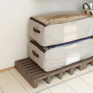 すのこ ジョイントパレット 高床 プラスチック製 ( 押入れ クローゼット 防湿 防カビ )の写真