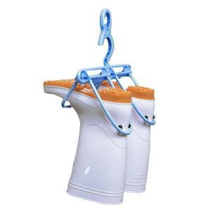 洗濯ハンガー 長ぐつハンガー 長靴用 ( レインブーツ 洗濯 乾燥 物干しハンガー )|livingut